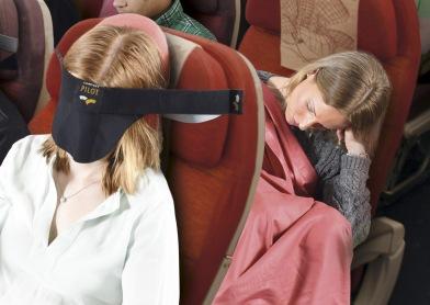 CP flight headrest